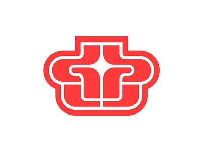 GPU brand futuristic y2k gpu icon vector typography type logos logo design branding