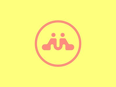 M y2k modern simple simplicity mark letterm m icon vector typography type logo logos design branding