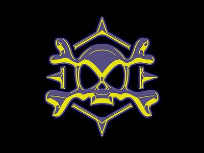 jollyrager® graphic design inspiration modern grunge skull logo skull logodesign vector icon logo logos design branding