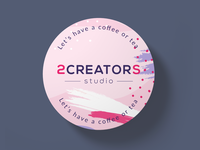 2Creators Studio Coffee or Tea Coasters