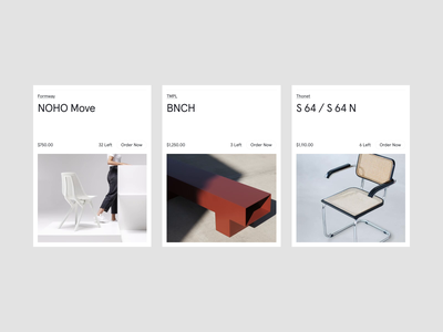 REASSEMBLE furniture design home interior design industrial design industrial cart card luxury grid furniture shop typography editorial product page online shop ecommerce
