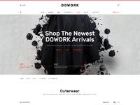 01 dowork ecommerce ui kit shop