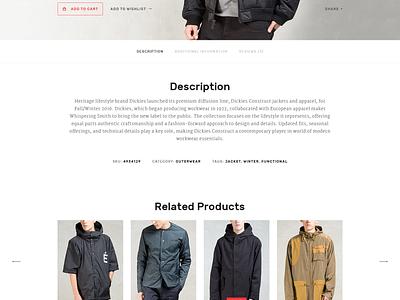 DOWORK Ecommerce UI Kit user interface ecommerce fashion ui kit ui design online shop product page kit hypebeast widget sidebar