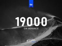 19000 on Behance