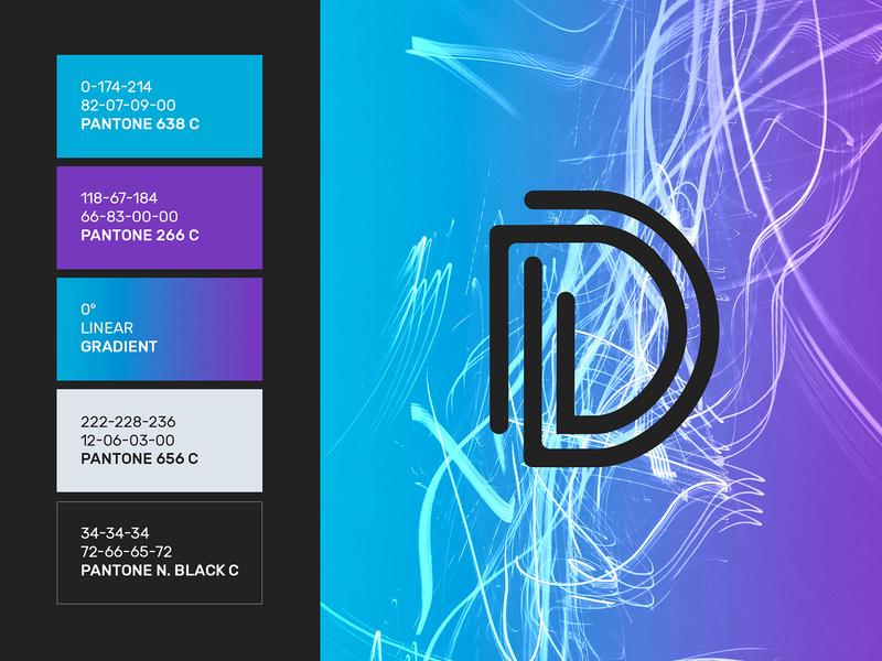 Digital Worldwide Brand Design freelancedesigner brandidentity visual gradient logodesign graphicdesigner branding logo graphicdesign designer freelance minimal design