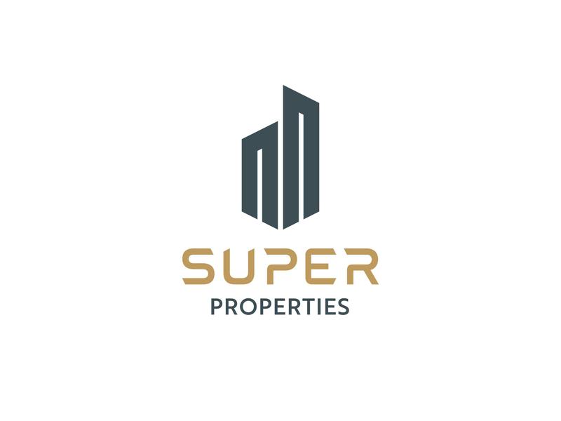 SUPER PROPERTIES Brand Design branddesign freelancedesigner brandidentity visual colors logodesign graphicdesigner logo branding graphicdesign designer freelance minimal design