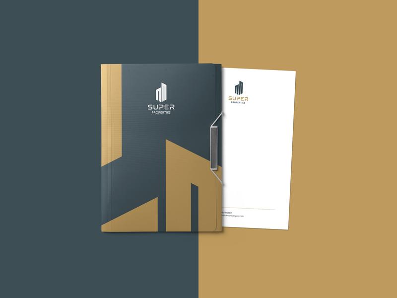 SUPER PROPERTIES Brand Design visual branddesign freelancedesigner brandidentity colors logodesign graphicdesigner logo branding graphicdesign poster designer freelance minimal design