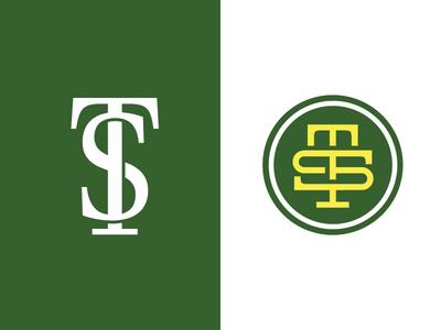 """TS"" Monogram Logo"