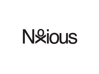 Noxious Typogram logo typography logotype typogram