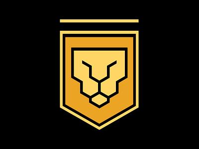 Lion Emblem logo lion