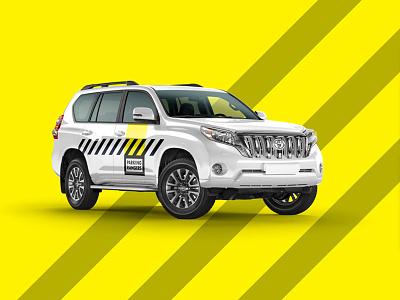 Parking Rangers Brand Revamp branding parking enforcement parking