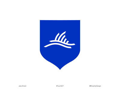 House of Tully Sigil (#FuturGotChallenge) coat of arms shield the futur graphic vector design logo sigil game of thrones
