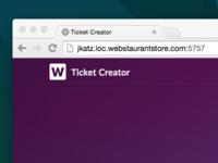 Ticket Creator