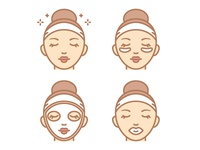 Care Face Icons