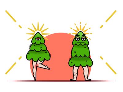 tree couple