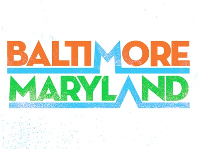 Draplin Baltimore Type Experiment
