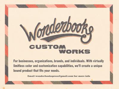 Wonderbooks Customworks
