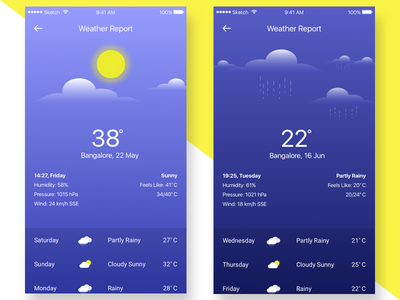 Weather Report weather information weather