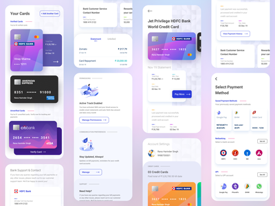 PB Pay Credit Card Bill Payment App fintech clean typography product design expense tracker expense manager financial app mobile app design app ui design creative vibrant modern vivid color gradient app ui mobile app bill payment credit cards