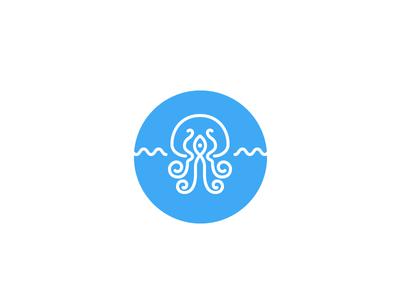 Kraken lineart kraken octopus icon