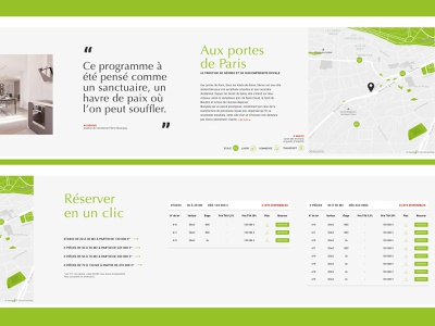 Realestate website horizontal scroll 5/5 architecture green horizontal scroll website webdesign ecommerce realestate