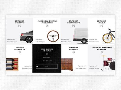 Self storage around you box rent park webdesign website parking storage
