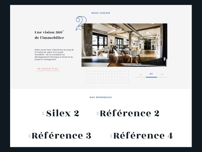 Workplace Building webdesign website realestate buidling architecture workplace