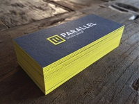Parallel design group business cards attachment