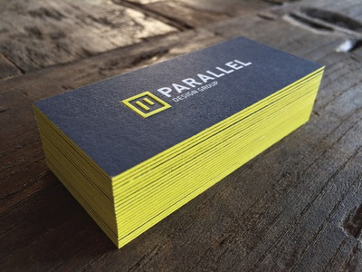 Parallel Design Group Business Cards