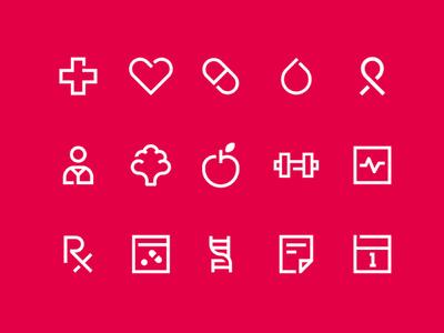My Healthcare Icon Set