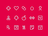 My Healthcare Icon Set