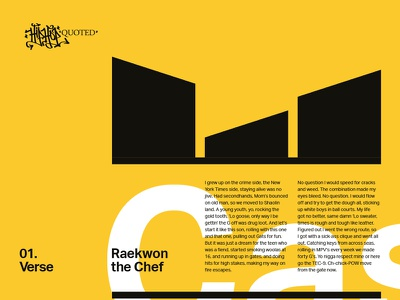Swiss style Wu-Tang graphic design indesign layout swiss typography