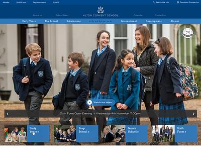 Homepage tweaks layout web design homepage