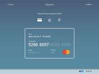 Daily UI 002 - Credit Card Form