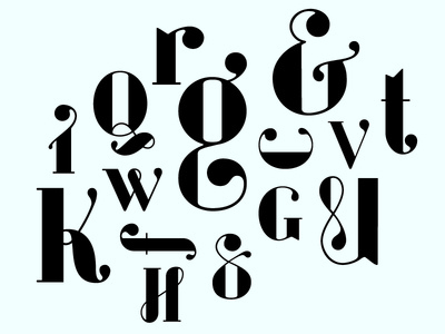 Evoque ; Typeface in process evoque typeface type design process typography didone bodoni type graphic design beautiful ampersand