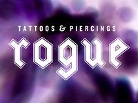 Rogue Tattoos & Piercings Logotype