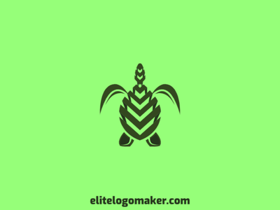 Turtle Logo logo maker logotipo logo for sale logo design evergreen animal green mascot tortoise turtle