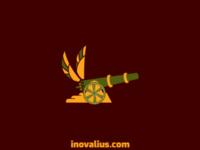 Cannon + Wings Logo