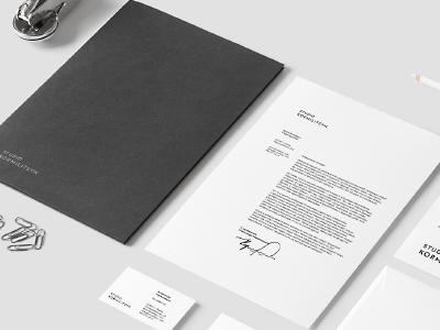 Studio's new logotype & visual identity studio kormilitsyn logotype identity website