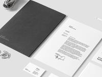 Studio's new logotype & visual identity