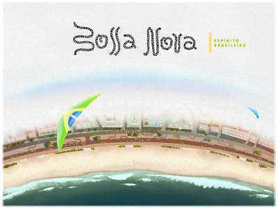 Charming Bossa Nova illustration brasil bossa nova