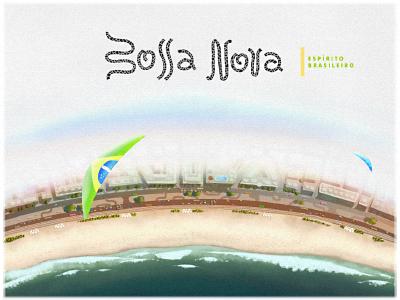 Charming Bossa Nova illustration brasil bossa nova
