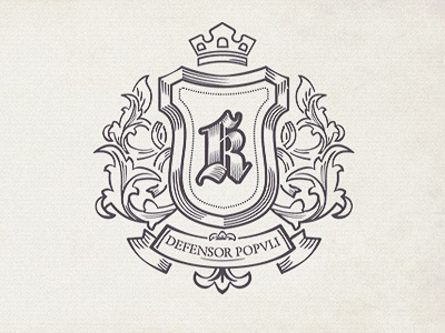 Shield shield crest logo crest monogram noble kings knights special offer