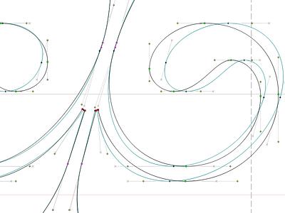 Italic Corrections lettering font didot serif text type typeface italic type design