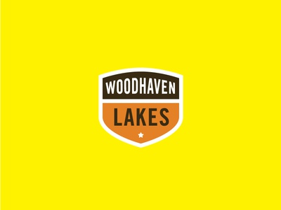 Woodhaven Lakes Badge