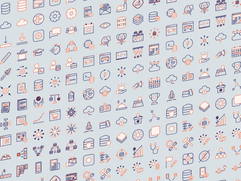 Yugabyte icons 2020
