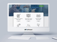 GFI Works portal - Home page redesign