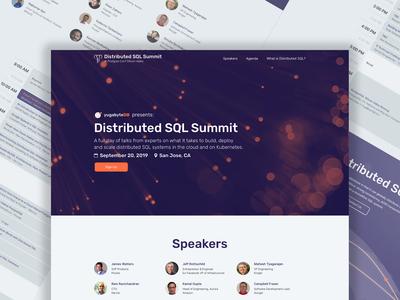 Distributed SQL Summit v2 - Desktop