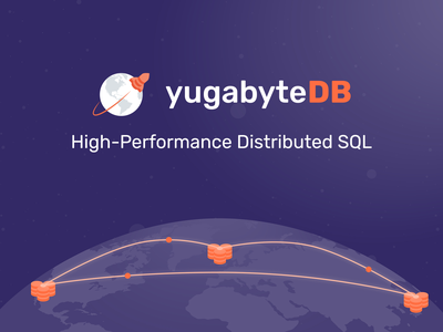 yugabyteDB - High Performance Distributed SQL open source sql database startup startup branding startup logo corporate branding logo design branding logo visual identity brand