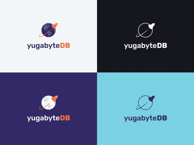 yugabyteDB logo brand visual identity branding logo design corporate branding startup logo startup branding startup database sql open source logo